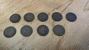 9 Indian Head Pennies in Kansas City, Missouri