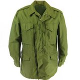 NEW OLD STOCK ARMY OG-107 GREEN SMALL FIELD COAT JACKET W/ HIDE-ABLE H in Fort Carson, Colorado