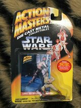 Action Masters Die Cast Metal Star Wars Luke Skywalker byKkenner 1994 in Quantico, Virginia