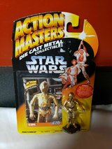 Action Masters Die Cast Metal Star Wars C-3PO, Kenner, 1994 in Quantico, Virginia