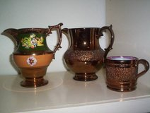 Antique Glassware, Hummel, Pink Depression Glass, CopperLustre, Lefton in Pearland, Texas