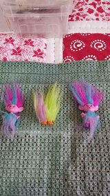 "2015 Dreamworks HASBRO 4"" Trolls!  Cute  Dolls!!  3pcs in Kingwood, Texas"