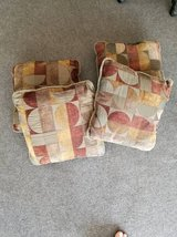 """Qty """"4"""" Matching Throw Pillows - $15 Takes all 4 - Clean!! in Brookfield, Wisconsin"""