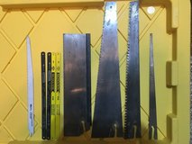 Assorted hand saw blades in Fort Belvoir, Virginia
