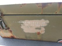 WWII VINTAGE COLLECTIBLE MILITARY CARRYING CASE NAVAL BATTLESHIP & DES in Colorado Springs, Colorado