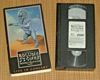 Vintage 1998 Rolling Stones Bridges To Babylon VHS Live In Concert Jagger in Chicago, Illinois