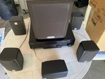 Kenwood VR-405 with Matching surround speakers system in Naperville, Illinois