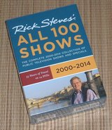 NEW Rick Steves Box Set All 100 Shows 2000-2014 55 Hours of Travel 14 DVDs in Plainfield, Illinois