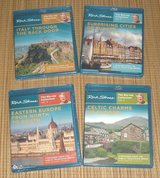 NEW Rick Steves Europe BluRay Set 27 Episodes 4 Disks RARE 4 Vol Collection in Plainfield, Illinois