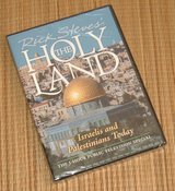 NEW! Rick Steves The Holy Land Israelis Palestinians Today DVD in Plainfield, Illinois