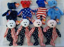 patriotic (ty) beanie babies in Clarksville, Tennessee