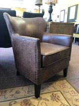 Leather chair in Naperville, Illinois