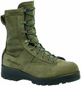 MENS BELLEVILLE SAGE GREEN USAF AIR FORCE 675ST STEEL TOE BOOTS 6.5R 6 in Miramar, California