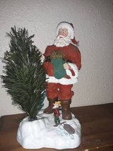 """""""Santa's Time Off"""" - Clothtique figure by Possible Dreams in Vacaville, California"""