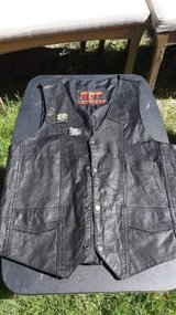 Size Small Motorcycle Vest, HOT LEATHERS in Travis AFB, California