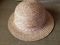 New cute straw hat with beading for girls in Camp Pendleton, California