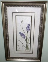 Framed Art - Floral - Hyacinths in Naperville, Illinois