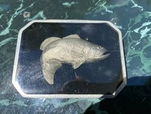 Largemouth Bass in Relief Handmade Belt Buckle - Vintage!  REDUCED!!! in Fort Leonard Wood, Missouri