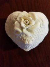 Vintage ceramic heart with flowers trinket box in Camp Pendleton, California