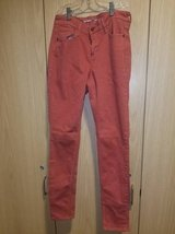 Old Navy Orange Rockstar Jeans (T=1) in Fort Campbell, Kentucky