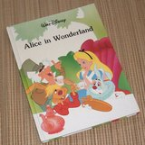 Vintage 1986 Walt Disney Alice in Wonderland Hard Cover Book Classic Series in Chicago, Illinois