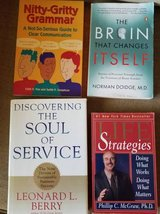 Various book titles in new to like new condition in Vista, California