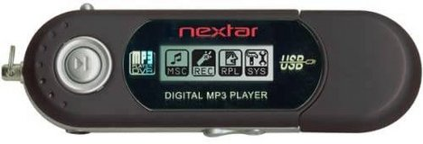 Nextar Black 1GB MP3 Player With Voice Recording (T=1) in Clarksville, Tennessee