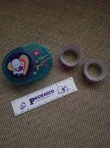 Rare Pochacco tape dispenser,ruler and two rolls of tape in Vista, California
