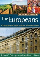 europeans a geography of people  book vids lecture bundle for geog of europe in Miramar, California