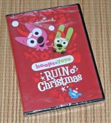 NEW Hoops & Yoyo Ruin Christmas DVD A Hallmark Channel Animated Special Piddles in Chicago, Illinois
