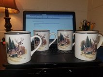 Bass Pro Shops Mug with Whitetail Deer by Al Agnew in Morris, Illinois