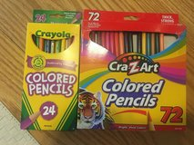 72 CraZart Colored Pencils in Fort Belvoir, Virginia