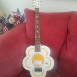 **Hard to find ** Daisy Rock White Flower Artist Electric Guitar in Plainfield, Illinois