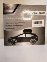 new rooftop bag/cargo carrier bag with anti-slip mat * ledkingdomus in Plainfield, Illinois