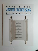 8 Jewish and Secular Sheet Music for Piano in Fort Belvoir, Virginia