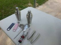 10 Pc. Stainless Steel Bar Set in Cleveland, Texas