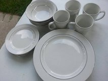 4 Place Settings Porcelain Dinnerware in Cleveland, Texas