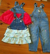 girl's overalls & 2 overall dresses - szs 12-18 mo & 2t in Pasadena, Texas