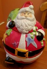 ceramic santa cookie jar - new in Pasadena, Texas