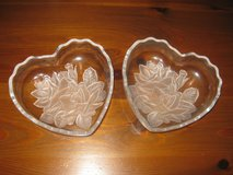 two heart shaped candy dishes in Pasadena, Texas