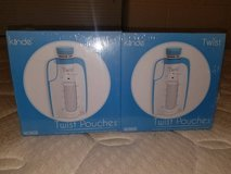 Kiinde Breast Milk Storage Twist Pouches 80 Total New Sealed (T=20) in Fort Campbell, Kentucky