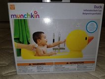 Munchkin White Hot Inflatable Duck Bath Tub (T=20) in Fort Campbell, Kentucky
