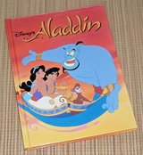 Vintage 1992 Disney Classic Series Aladdin Over Sized Hard Cover Book in Chicago, Illinois
