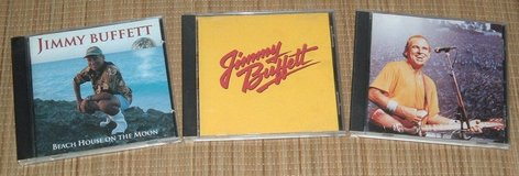 3 Vintage 80s 90s Jimmy Buffet CDs Greatest Hits Beach House Feeding Frenzy Lot in Morris, Illinois