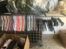 87 plastic clothes hangers in Fort Belvoir, Virginia