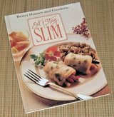 Vintage 1990 Better Homes and Gardens Eat & Stay Slim Hard Cover Diet Cook Book in Morris, Illinois