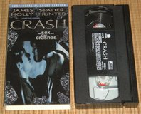RARE Vintage 1997 Crash VHS Controversial Uncut Version James Spader Holly Hunter in Morris, Illinois