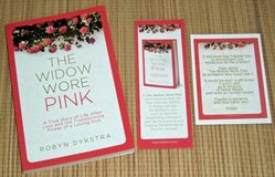 NEW Widow Wore Pink True Story of Life After Loss the Transforming Power Book in Morris, Illinois