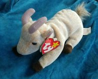 "TY Beanie Baby - ""Goatee the Goat"" (6 inch) - Stuffed Animal Toy 4 Nov 98 in Fort Belvoir, Virginia"