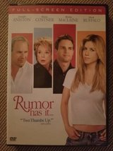 Rumor has it DVD in Camp Pendleton, California